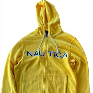 NEW👕Nautica Full-Zip Hooded Sweatshirt👕